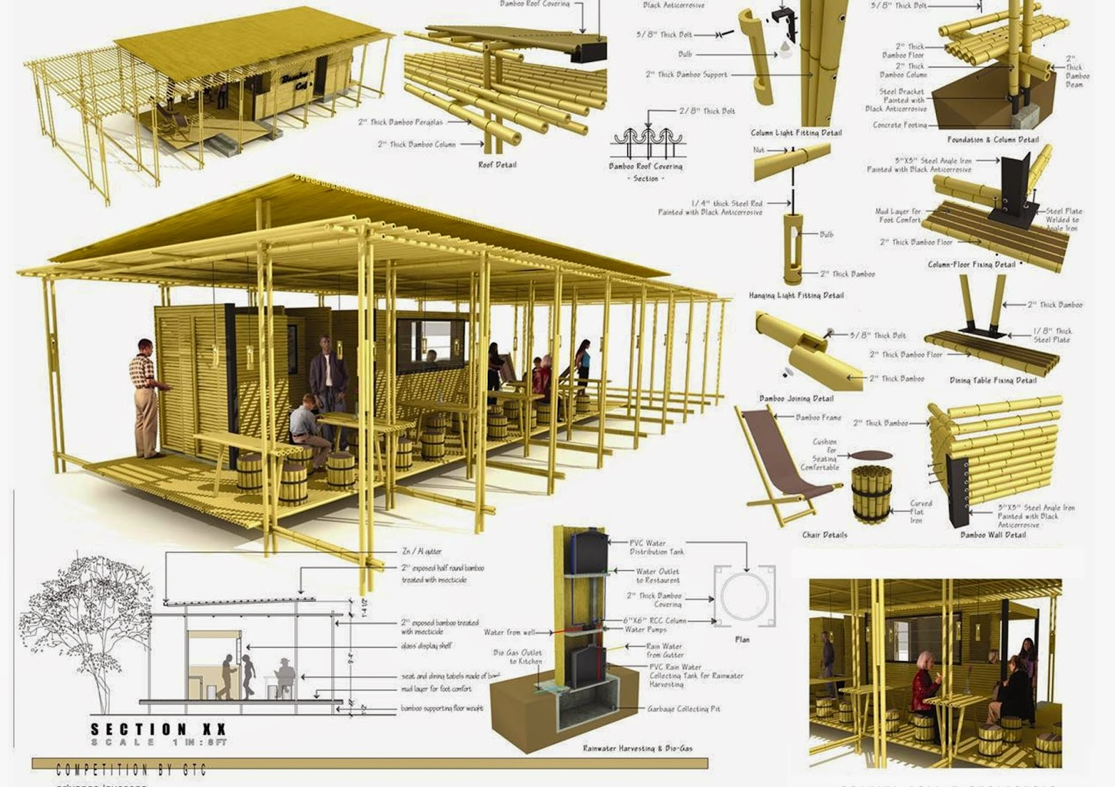 Manual de estructuras en bambu licencias de construccion for Estructuras para arquitectos pdf