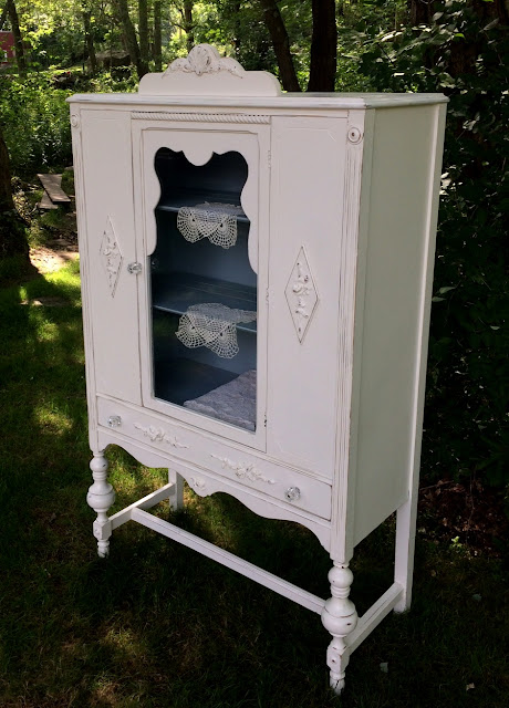 Shabby Chic China closet
