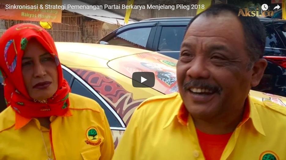 Sinkronisasi & Strategi Pemenangan Partai Berkarya Jelang Pileg 2018