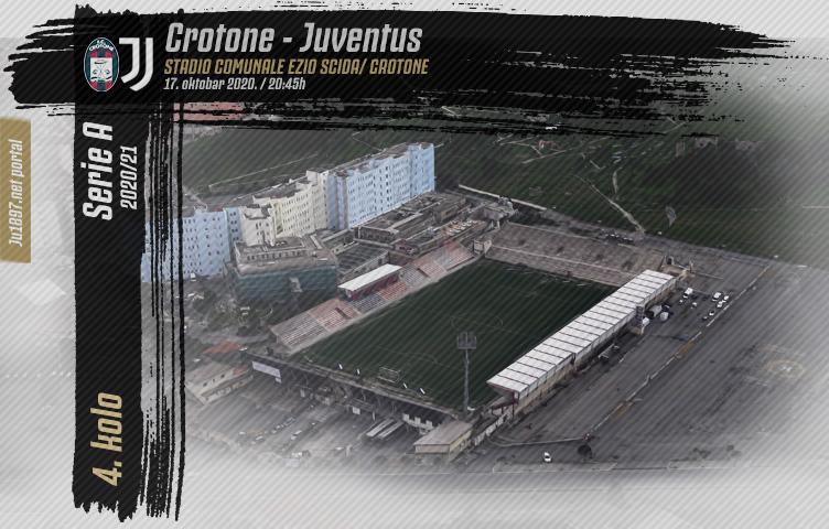 Serie A 2020/21 / 4. kolo / Crotone - Juventus, subota, 20:45h