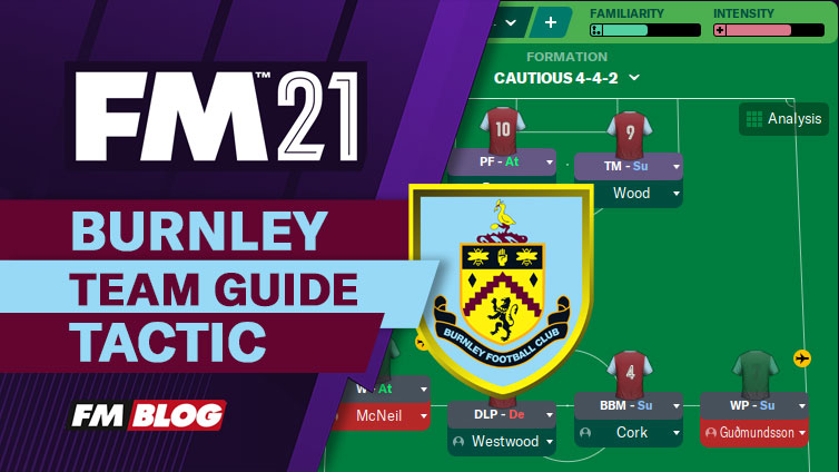 FM21 Burnley 4-4-2 Direct Counter-Attack Tactic | Team Guide