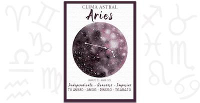 Clima astral - Aries fin de semana