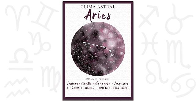 Clima astral - Aries 3 de Marzo