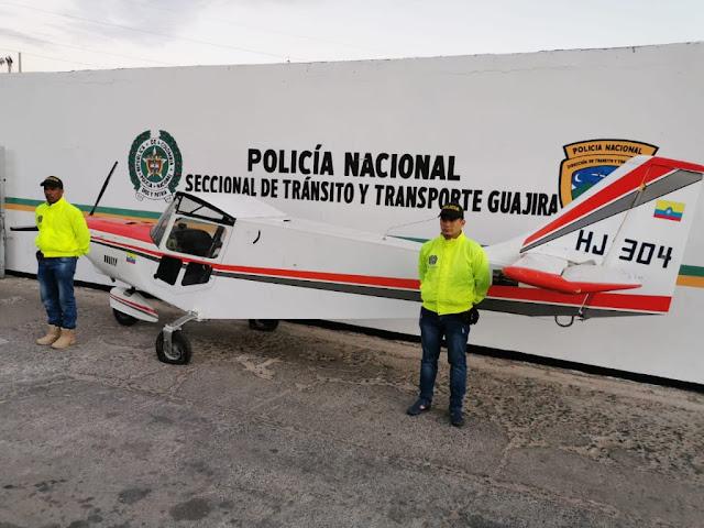 Incautada avioneta en la vía Riohacha - Maicao