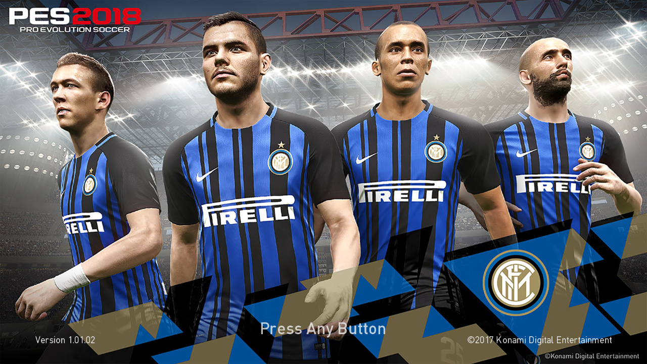 PES 2018 Internazionale Milano Startscreen by ABW