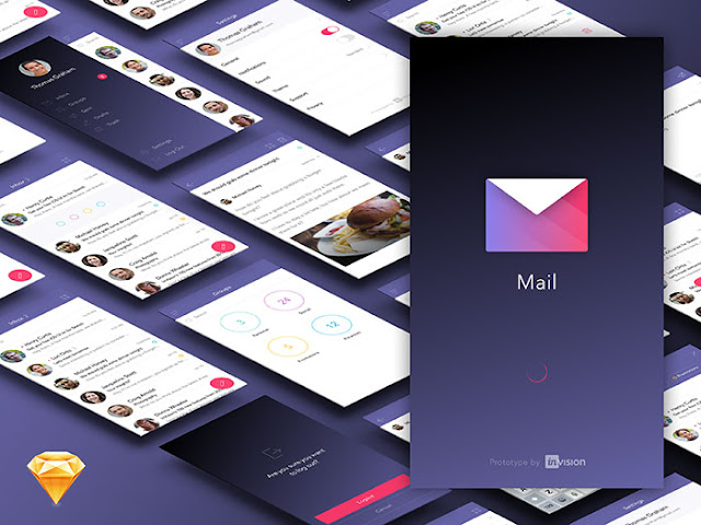 Free Ui kit for mail app