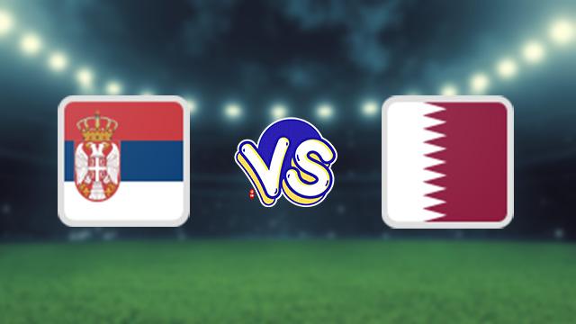 مباراة قطر ضد صربيا