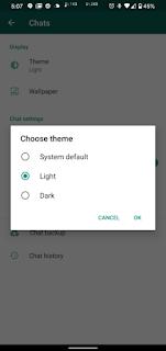 تحميل أحدث إصدار من واتس اب الوضع المظلم whatsapp dark mode
