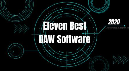 Eleven Best Digital Audio Workstation Softwares in 2020, Eleven Best DAW Softwares in 2020, Best Digital Audio Workstation Softwares, Best DAW