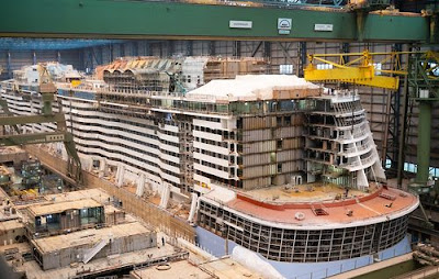Royal Caribbean's Odyssey of  the Seas - Meyer Werft Shipyard
