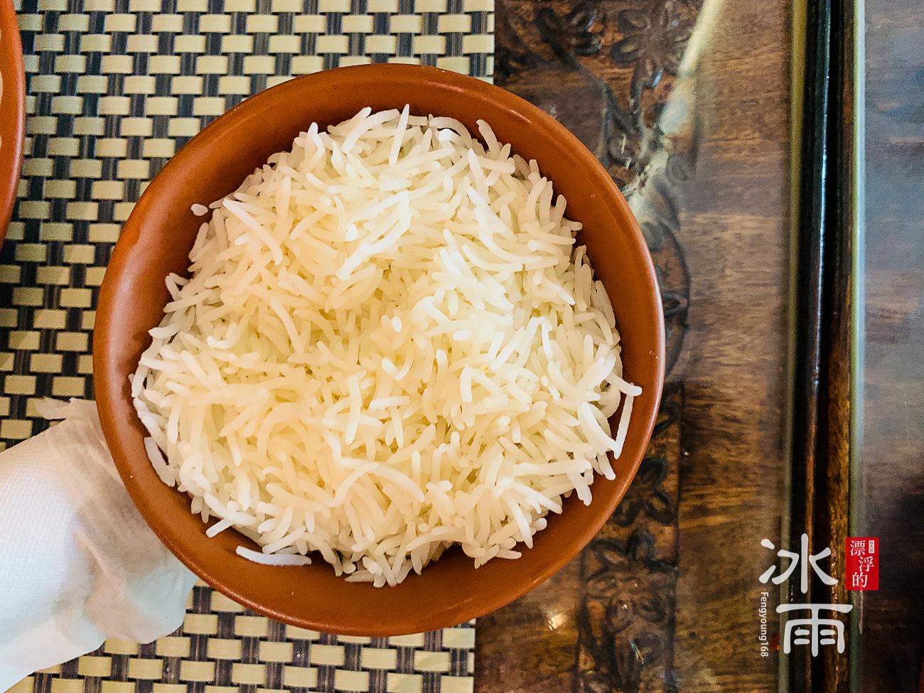 莫夏印度餐廳Moksha|香米飯