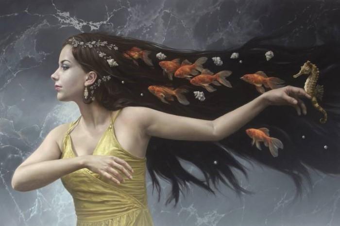 Сюрреалистический стиль гиперреализма. Johnny Palacios Hidalgo