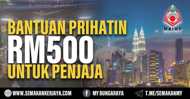Permohonan Bantuan RM500 Untuk Penjaja