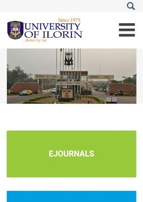 UNILORIN Undergraduate Portal Now Accessible.