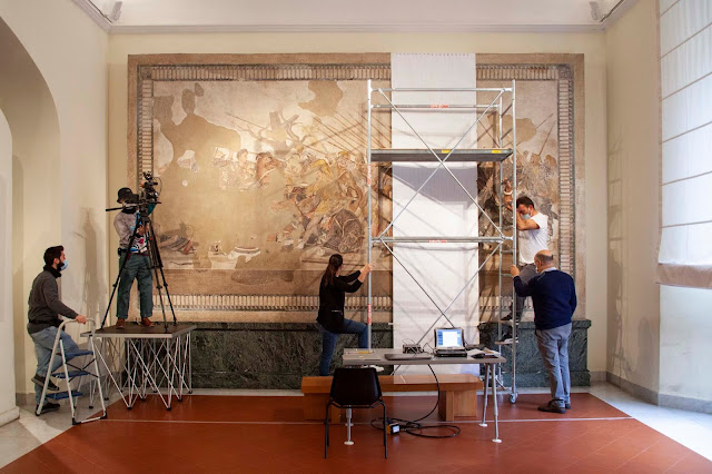 Pompeii's Alexander the Great mosaic set to be restored