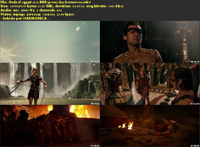 Descargar Gods of Egypt Subtitulado por MEGA.