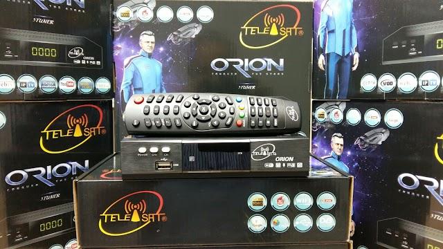 TELEISAT ORION HD VOD IPTV 3 TURNERS ATUALIZAR E CONFIGURAR - VIDEO - 08/02/2016