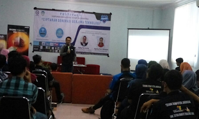 Himpunan Mahasiswa Teknik Informatika IIB Darmajaya Gelar Fesival 4