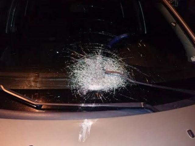 Homem é espancado e tem carro quebrado pelo ex-marido da atual namorada