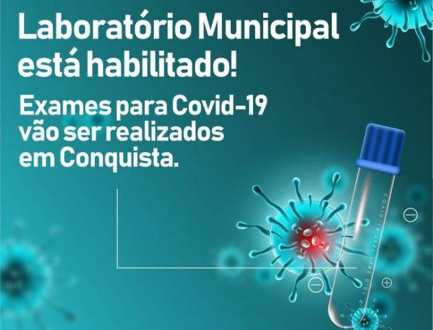 Conquista é o primeiro município do interior da Bahia a realizar exames para detecção da Covid-19