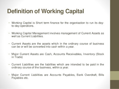 lmpact of working capital management on Working capital management: a case study of ocm a study depicting the impact of operational & financial workability of organization after the change of ownership in contend with global financial crisis mr rohit kanda research scholar fms, udaipur.