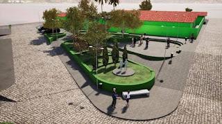 Em Picuí, Gestão Municipal deu sequência à urbanização da entrada da cidade com construção de duas Praças