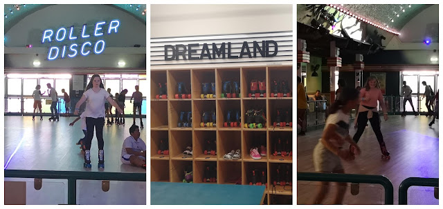 Roller disco at Dreamland Margate