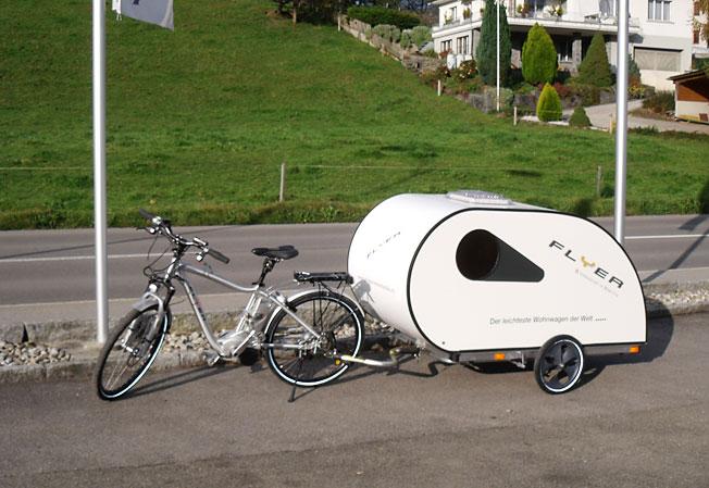 deichsel fahrradtr ger thule caravan light f r 2. Black Bedroom Furniture Sets. Home Design Ideas
