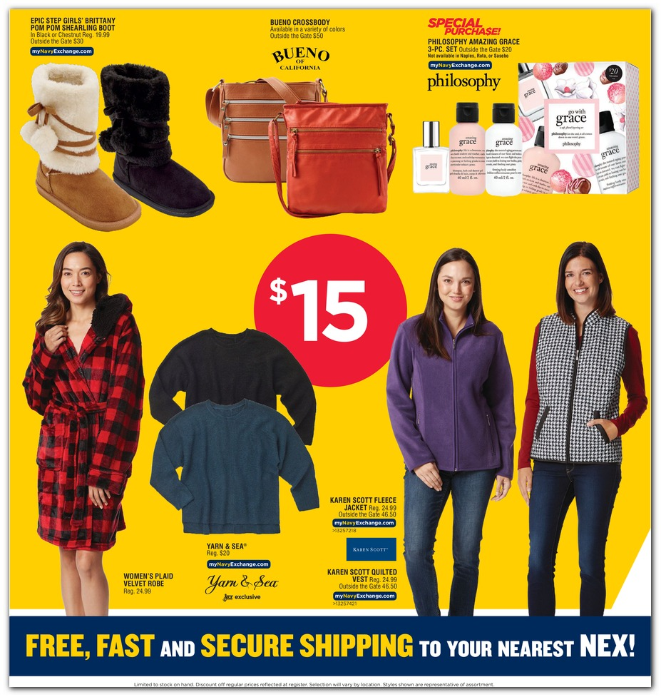 Navy Exchange Black Friday 2019 page 58