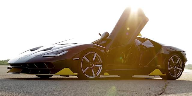 限定40台、2億円以上の「ランボルギーニ・センテナリオ」が走る様子はこんな感じ!