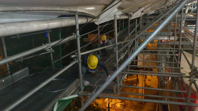 Upgrading Fleet Expansion- 09 Scaffold Erection