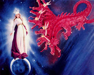 The woman and the Dragon - Rev. 12 (Artist unknown)