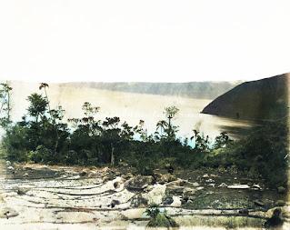 salah satu sudut pemandangan di tongging ke danau toba