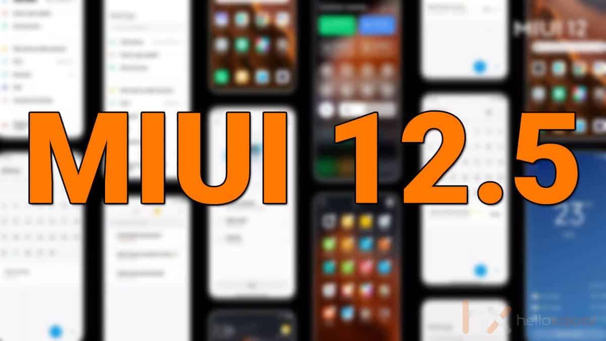 تحديث MIUI 12.5 سيكون متاحًا لأجهزة XIAOMI قبل نهاية العام