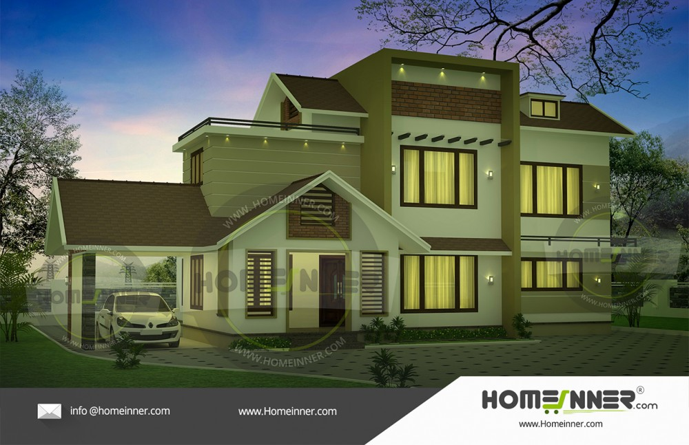 2300 Sq Ft House Plans India