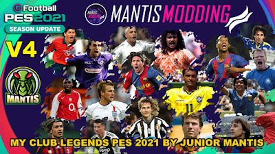 eFootball PES 2021 MyClub Legends by Junior Mantis