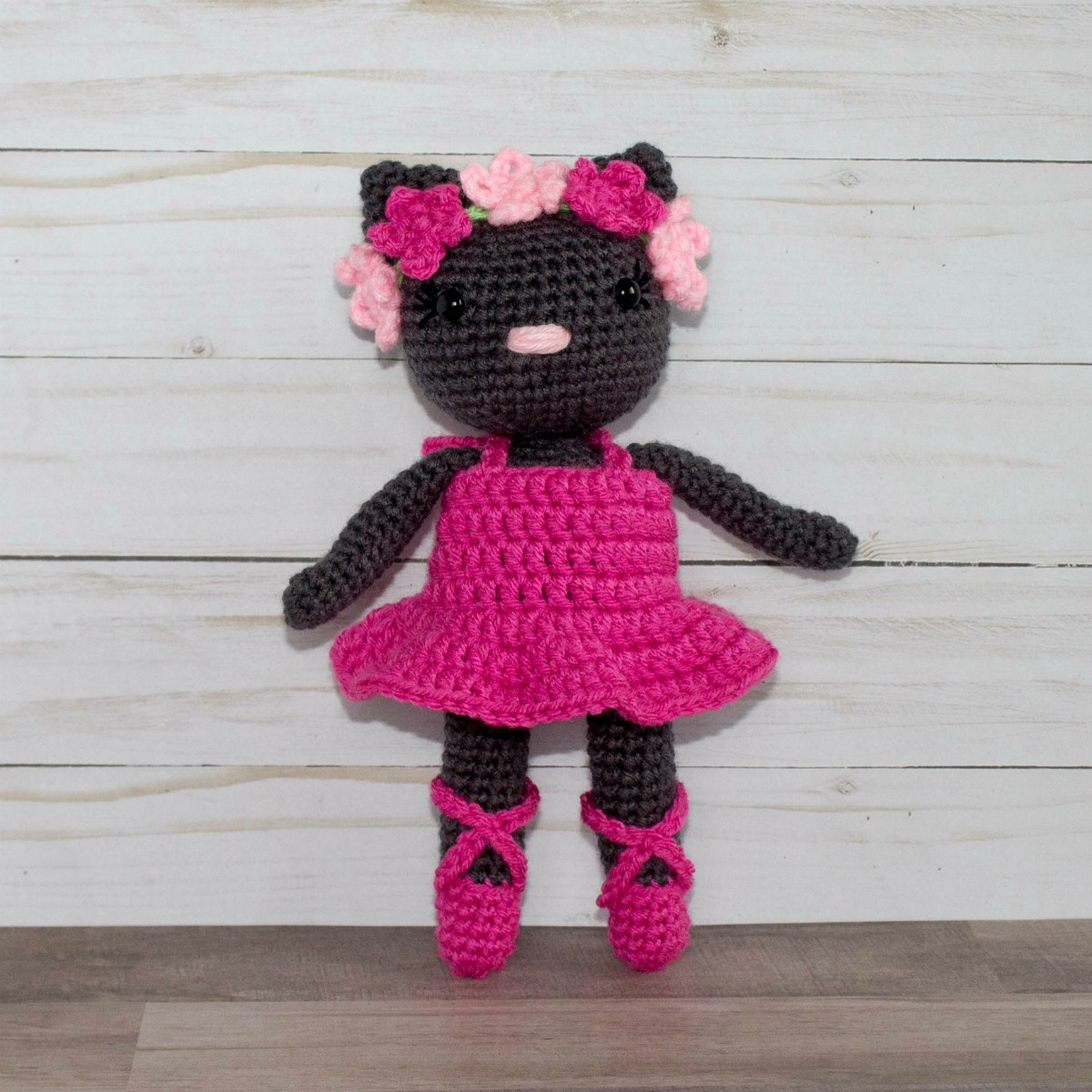 Kitty Ballerina Amigurumi And Baby Shoes Crochet Pattern | Crochet ... | 1200x1200
