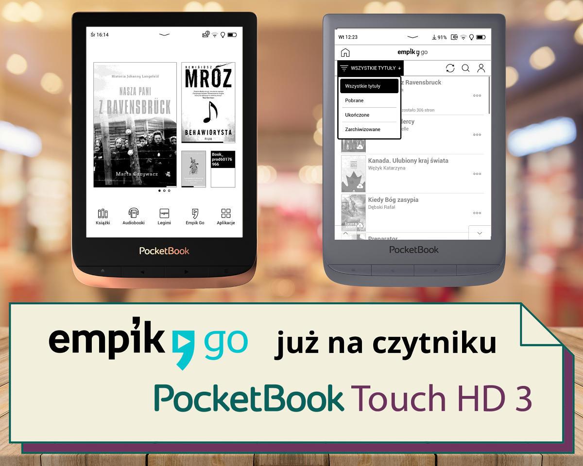 PocketBook Touch HD 3 z aplikacją Legimi - grafika
