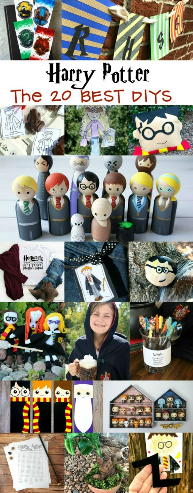 20 Best Harry Potter DIYs