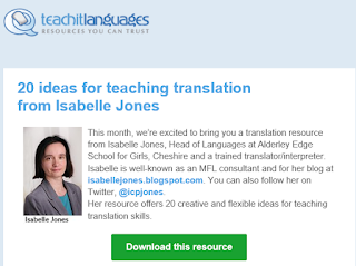 Translation is Back! 20 Ideas for Teaching Translation