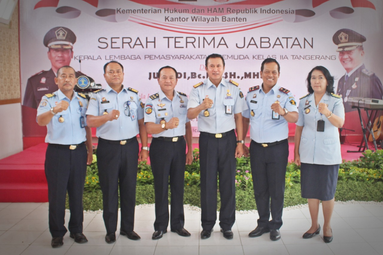 Ini Wajah Baru Pimpinan di Lapas Pemuda Tangerang