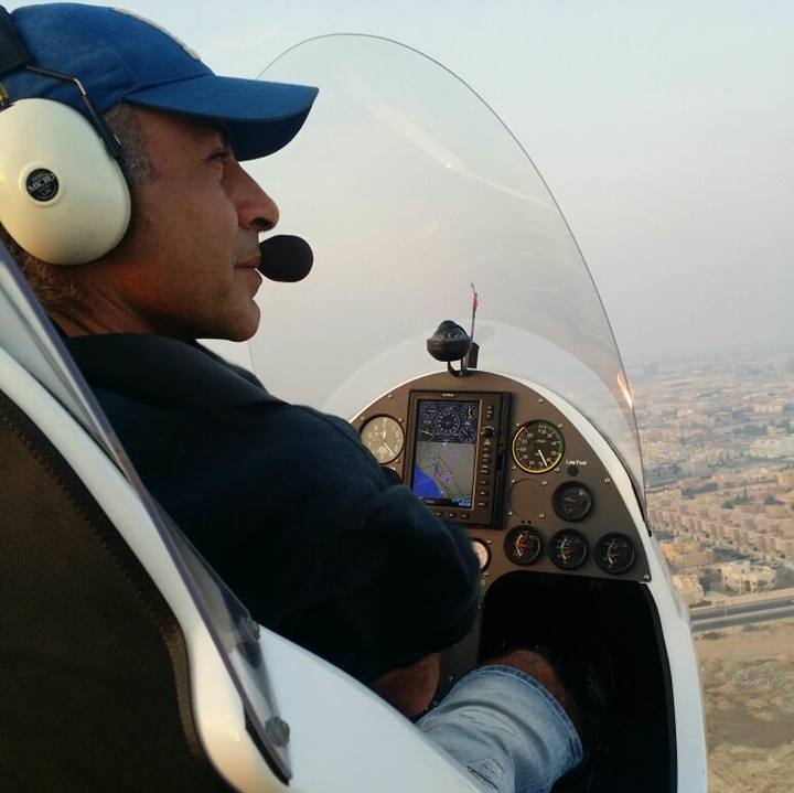 تعلم الطيران - كابتن طيار - حاتم سيف