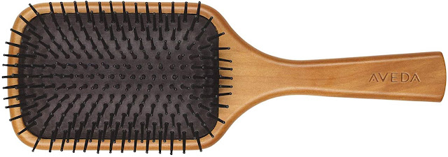 Aveda wooden large paddle vegan brush