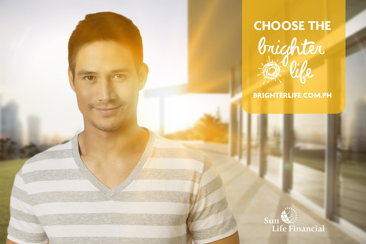 Sunlife Brighter Life Piolo Pascual