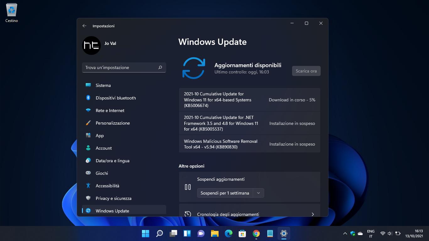 Windows 11: i PC non supportati ricevono regolarmente gli aggiornamenti