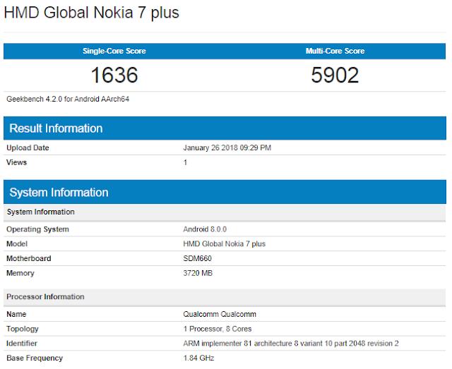Review Nokia 7 Plus Terbaru 2018