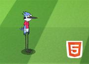 Rigby y Mordecai en Copa Toon Africa