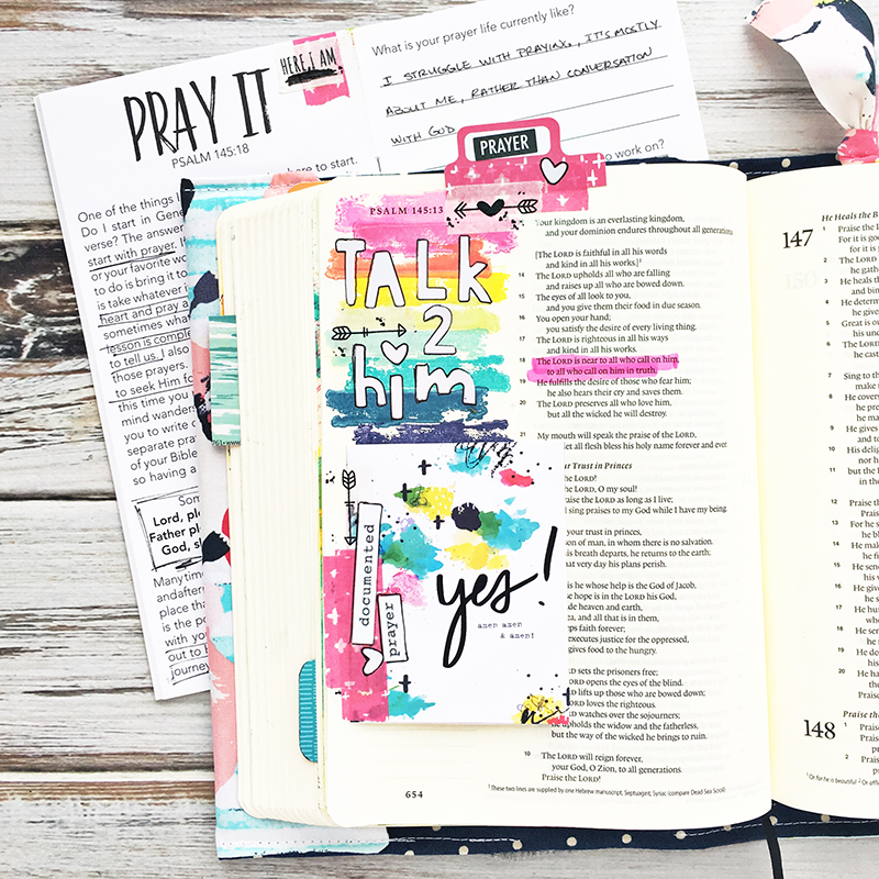 a rainbow of colors for mixed media art journaling, planner, Bible journaling projects including favorite color names and tools | Faber Castell | The Reset Girl | Illustrated Faith | pigment stamp ink