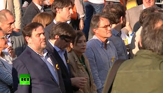 ousted Catalan leaders