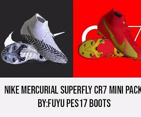 PES 2017 Nike Mercurial Superfly CR7 Mini Pack